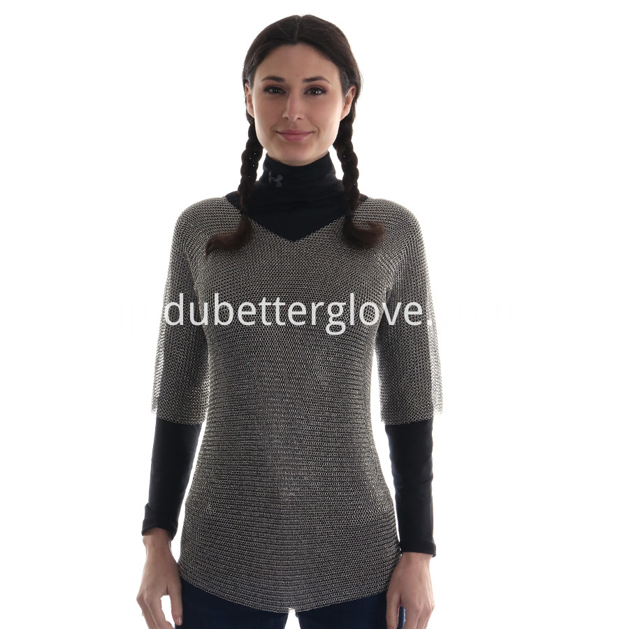 Dubetter steel mesh vest long sleeve