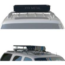 Panier en toit en acier noir pour toit pour bagages