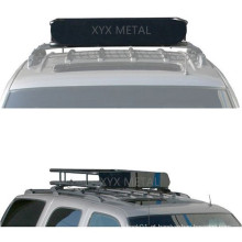 Cesta de telhado da barraca de telhado do aço preto para bagagem