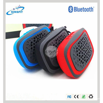 Hot Silicone FM impermeável sem fio Bluetooth Speaker