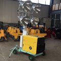 Gasoline generator 400W halide lamp Mobile light tower