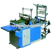 Computer control rolling T-shirt & flat bag making machine zip lock bag making machine