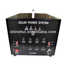 Sistema de iluminação solar para casa / inversor