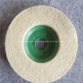 Stainless Steel Felt Polishing Discs for Glass