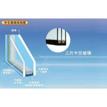 Solid Insulated Tempered Glass Double Glazing / Triple Glaz