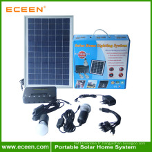 Mini kit de lumière solaire mural
