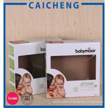 Le jouet fait sur commande d'éducation de bébé d'enfant a ridé l'emballage de boîte en carton