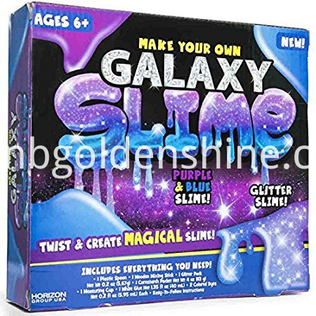 Make Your Own Galaxy Slimy Gloop