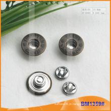 Metal Botões, Custom Jean Pins BM1359