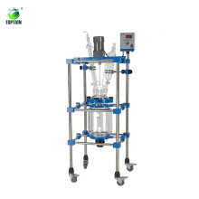China three layer glass reactor supplier/manufacturer