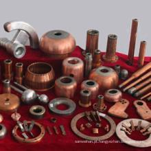 Componentes de cobre