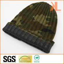 100% акриловая камуфляжная реверсивная трикотажная шляпа