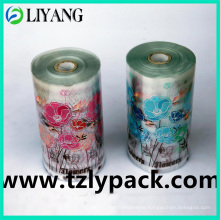 Two Colors Flower, Heat Transfer Film for Plastic