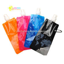 Customer Logo BPA free Wholesale Bottle Foldable Water Bottle