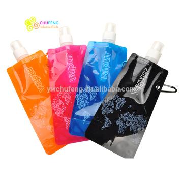 Customer Logo BPA free Wholesale Bottle Foldable Water Bottle