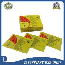 Medicamentos Veterinários de Cloreto de Isometamidium Cloridrato Injeção 1g