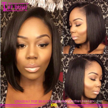 Man made bob brazilian hair wigs hot popular bob wigs for black women wholesale cheap short bob wigs for black women