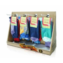 Pop Socken Hausschuhe Papier Countertop Display