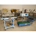 Selladora de banda multifuncional tipo continuo seguir sellado de máquinas de impresión de embalaje