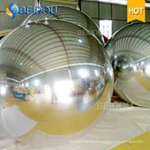 Pièce centrale Miroir en PVC Balloon Disco Inflatable Mirror Ball Décorations