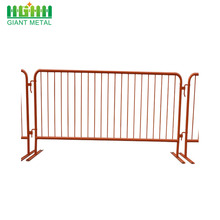 Barrière de sécurité de barrière temporaire de contrôle de foule