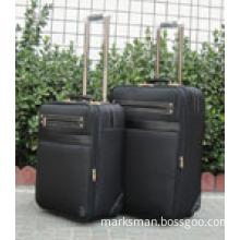 leather boarding trolley bag