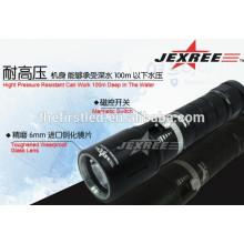 Перезаряжаемые Cree XML2 800lm алюминиевый профессиональный светодиодный фонарик