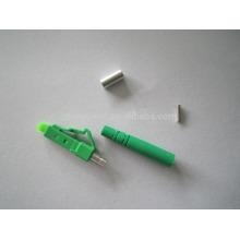 Faible perte d'insertion lc upc apc simplex connecteur duplex pour câble fibera rencontrer Telecordia GR-326-CORE