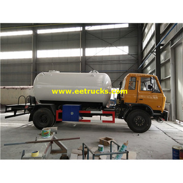 10m3 Dongfeng Propane Road Pétroliers