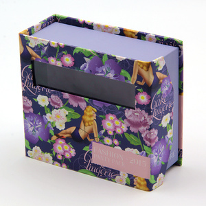 Custom Book Shaped Cardboard Album Gift Box