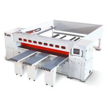 Machine à scier en panneau pour ordinateur à table coulissante en bois