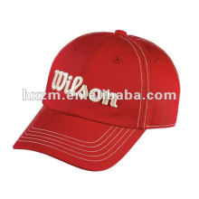 Garment Washed Micro Sanded Cotton Cap with Contrast Stitching