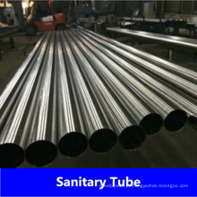 Tubo lácteo soldado de aço inoxidável DIN11850 de fábrica na China