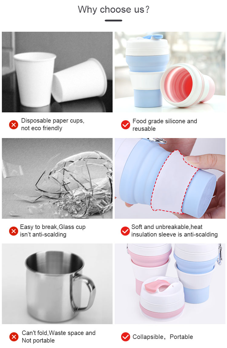 Collapsible Coffee Cup Silicone