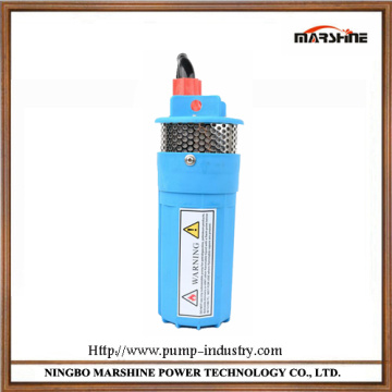Micro DC 12V solar deep well submersible water pump