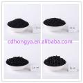 Carvão ativado do carvão da antracite da pelota de 2mm 3mm 4mm para a limpeza do tratamento do ar