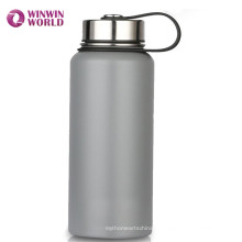 22oz personalizou a garrafa de água de aço inoxidável isolada da boca larga da boca dos esportes
