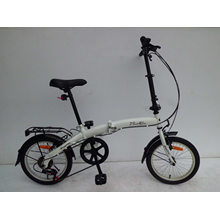 "Bicicleta / bicicleta plegable de acero de 16 ""(FD16)"