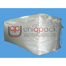 White Bulk Containers Liner Bag PP Woven Fabric for 20 ft /