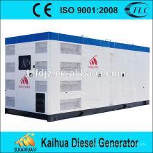 Generador diésel de tipo silencioso de 1000 Kw alimentado por tomacorrientes de fábrica de Perkins