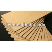 Tablero de fibra de alta densidad 1220 * 2440mm