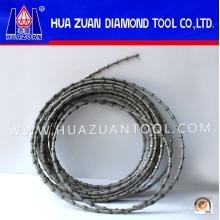 Steinschneidensäge! Gebrauchte Machine Diamond Wire Saw für Stein Granit Marmor Block Squaring