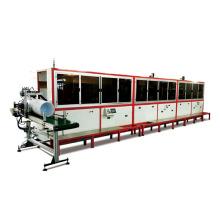 Máquina automática de serigrafía UV para cubeta de aceite