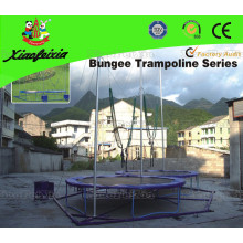 Double Person Round of Bungee Trampoline
