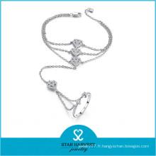 Vintage 925 bijoux perle Soilver (B-0027)