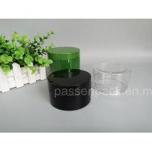 Schwarzes Plastik-Weitmund-Glas für Nahrungsmittelverpackung (PPC-84)