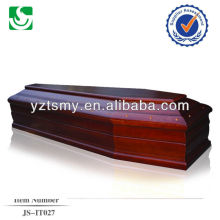 European style colour rose cherry coffin