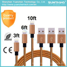 Wholesale Fast Charging Sync Data USB Cable for iPhone iPad