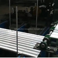 High speed corrugated panel steel roofing rollformers