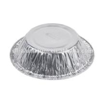 Pequenas panelas de goma de alumínio